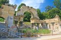 Ruins of carthage schonbrunn vienna austria roman Royalty Free Stock Photo