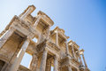 The ruins of celsus library in ephesus turkey Stock Photo