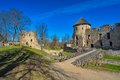 Ruins of cesis castle medieval in german wenden latvia once the most important the livonian order it was the official Stock Image