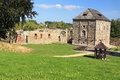 Ruins of cheb castle the czech republic Stock Photo