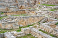The ruins of chersonesos ancient city Stock Photography