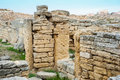 The ruins of chersonesos ancient city Royalty Free Stock Image