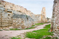 The ruins of chersonesos ancient city Royalty Free Stock Photos