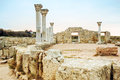 The ruins of chersonesos ancient city hersonissos Royalty Free Stock Photos