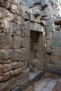 Ruins of the church at Gamla, Israel Stock Photo