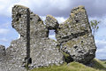 Ruins of Clonmacnoise Castle Stock Image
