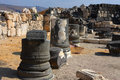 The ruins of the Decapolis city Susita Royalty Free Stock Photography