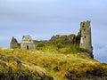 Ruins of dunure castle ayrshire scotland Stock Photography