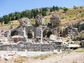 Ruins of efes the ancient greek city turkey Royalty Free Stock Images