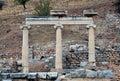 Ruins in Ephesus Royalty Free Stock Photo