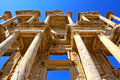 The Ruins at Ephesus, Turkey Royalty Free Stock Photo