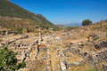 Ruins of ephesus turkey anatolia Stock Photo