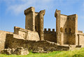 Ruins of The Genoa Fortress in Sudak Royalty Free Stock Photo