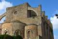 Ruins of Greek church of St. George and St. Nicolas Royalty Free Stock Photo
