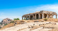 Ruins in hampi complex historical Royalty Free Stock Images