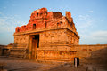 Ruins in hampi india at sunset see my other works portfolio Stock Photos