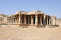 Ruins of hampi india a temple complex in a unesco world heritage site Royalty Free Stock Photos
