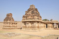 Ruins of hampi india a temple complex in a unesco world heritage site Royalty Free Stock Photography