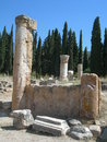 The ruins of hierapolis ancient city turkey Royalty Free Stock Image