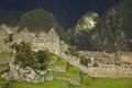 Ruins inside machu picchu peru Royalty Free Stock Image