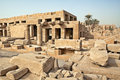 Ruins in Karnak Royalty Free Stock Photos