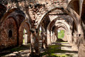 Ruins of Kilwa Kisiwani in Tanzania Royalty Free Stock Images