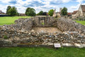 Ruins of Lady Chapel and Crypt at St Augustine's Abbey in Canter Royalty Free Stock Photo