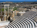 Ruins of Leptis Magna Stock Photos