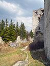 Ruins of Lietava Castle, Slovakia