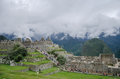 Ruins of Machu Picchu Royalty Free Stock Photo