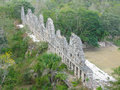 Ruins of the Mayan site - Uxmal Royalty Free Stock Photo