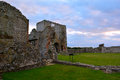 Ruins of medieval Baconsthorpe castle, Norfolk, England, United Kingdom Royalty Free Stock Photo