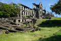 Ruins of the mile long barracks on Corregidor Island, Manila Bay, Philippines Royalty Free Stock Photo