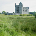 Ruins of Monea Castle Stock Photos
