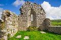 Ruins of old abbey in co clare ireland Stock Image