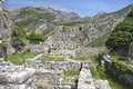 Ruins of old bar montenegro stary Royalty Free Stock Photo