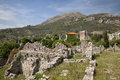 Ruins of old bar montenegro stary Royalty Free Stock Photography