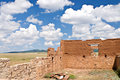 Ruins at old Fort Union, New Mexico Stock Image