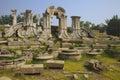 Ruins in the old summer palace of yuan ming yuan beijing china Royalty Free Stock Photos