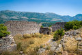 Ruins of old Sutomore fortress Royalty Free Stock Photo