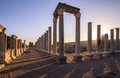Ruins at perge turkey greek and roman Stock Image