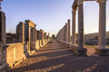 Ruins at perge turkey greek and roman Royalty Free Stock Photography