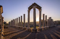 Ruins at perge turkey greek and roman Royalty Free Stock Image
