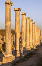 Ruins at perge turkey greek and roman Royalty Free Stock Images