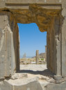 Ruins of Persepolis Royalty Free Stock Photo
