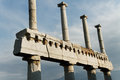 Ruins of pompeii detail the Royalty Free Stock Images