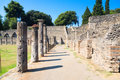 Ruins of Pompeii Italy Stock Photo