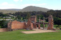 The ruins of port arthur in tazmania Royalty Free Stock Photography