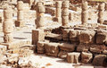 Ruins roman of baelo claudia in bolonia beach province cadiz andalucia Stock Photo