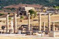 Ruins roman of bartolo mountain near beach bolonia cadiz andalucia Royalty Free Stock Photos